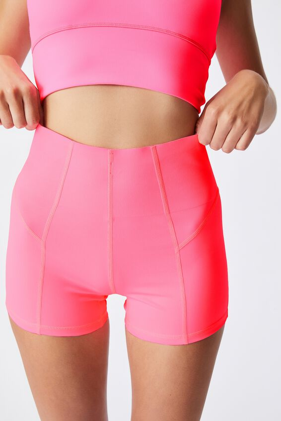 Ultimate Booty Shortie Short, ROUGE PINK