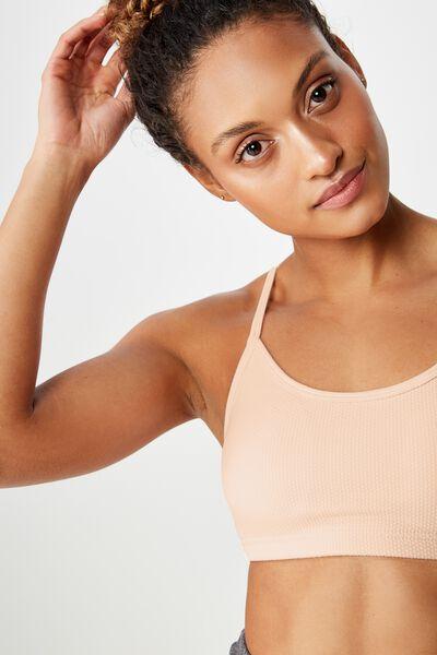 Workout Yoga Crop, CLOUD PINK TEXTURE