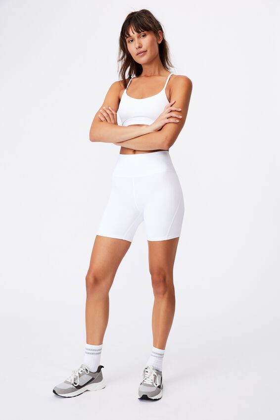 All Rounder Bike Short, WHITE
