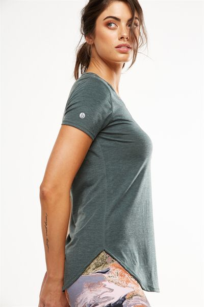 Gym T Shirt, HUNTER GREEN