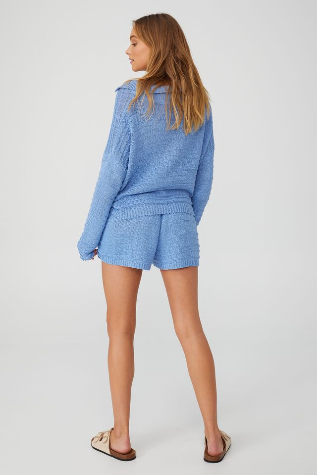 Summer Lounge Beach Knit, BLUE ANGEL