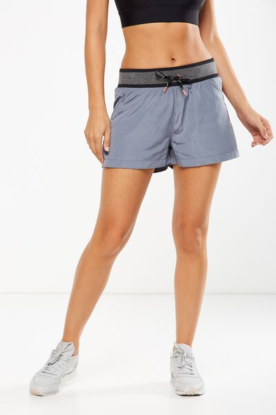 Gym Jogger Short, TITANIUM/MID GREY MARLE