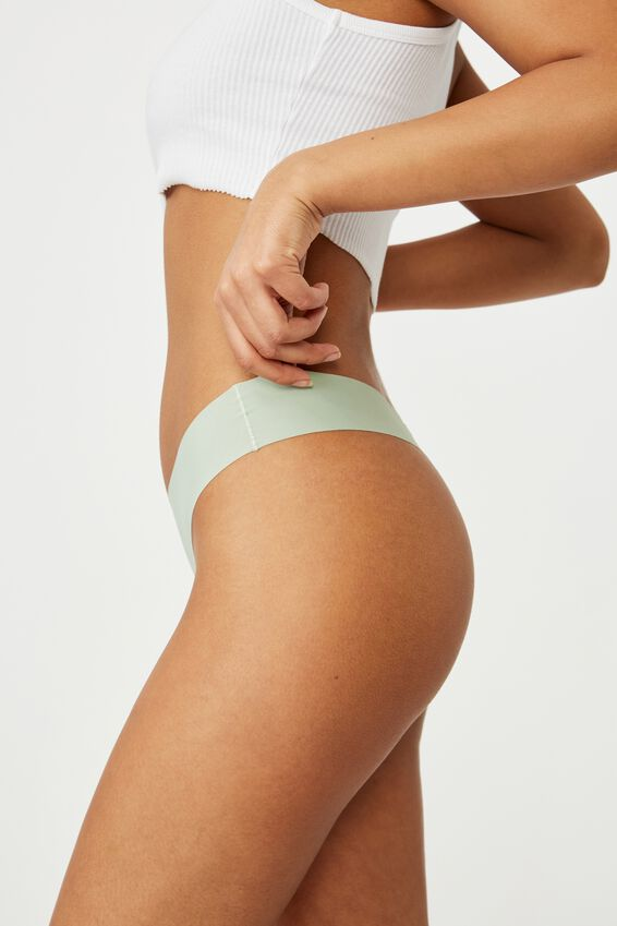 The Invisible G String Brief, MINT CHIP