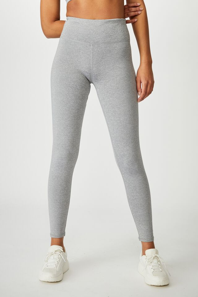 Active Core Full Length Tight, MID GREY MARLE
