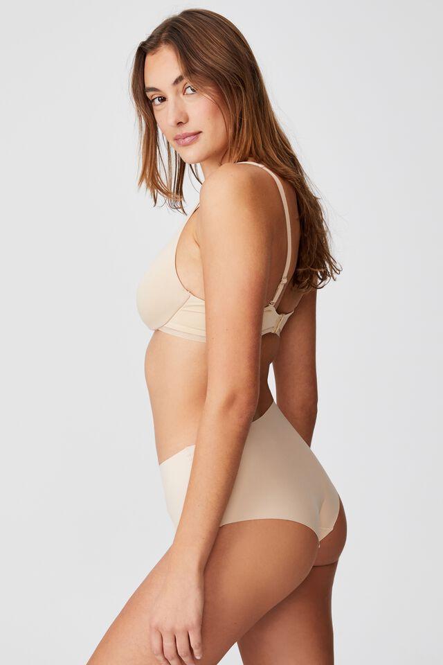 The Invisible High Cut Bikini Brief, FRAPPE