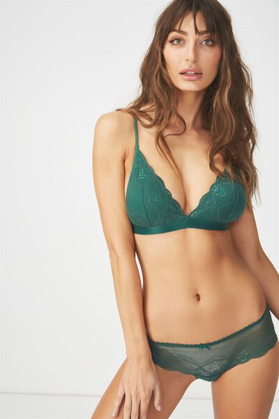 Cindy Bralette, EMERALD GREEN