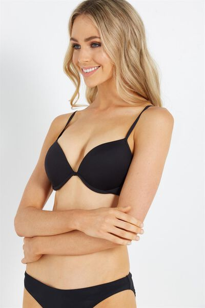 Bahama Up2 Bikini Top, BB BLACK