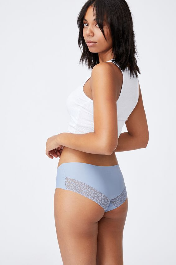 Party Pants Boyleg Brief, BLUE FOG