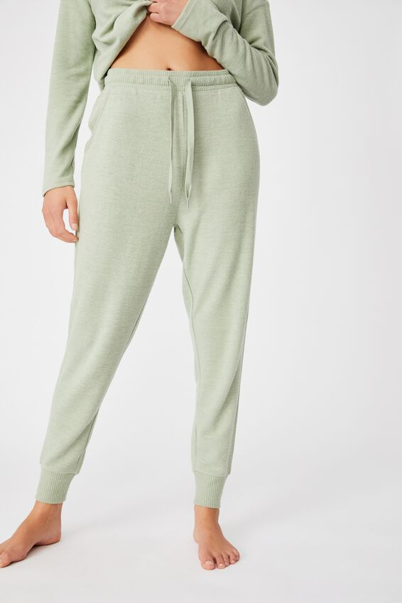 Supersoft Slim Fit Pant, SEAFOAM MARLE