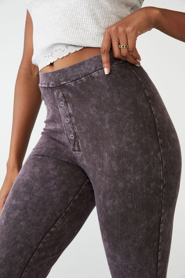 Jersey Bed Pant, WASHED FRENCH TOAST