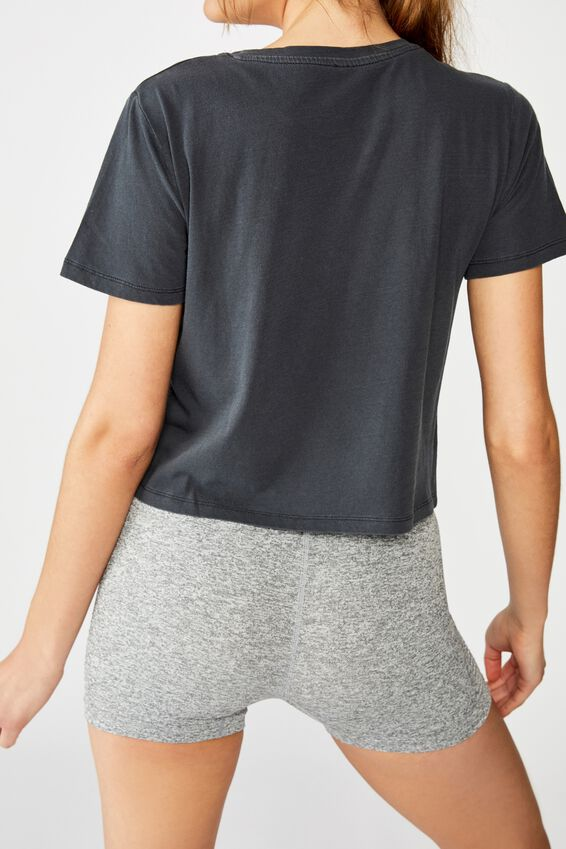 Active Placement Print Tshirt, NAVY