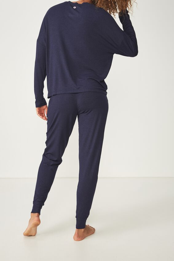 Sleep Recovery Pant, MIDNIGHT MARLE
