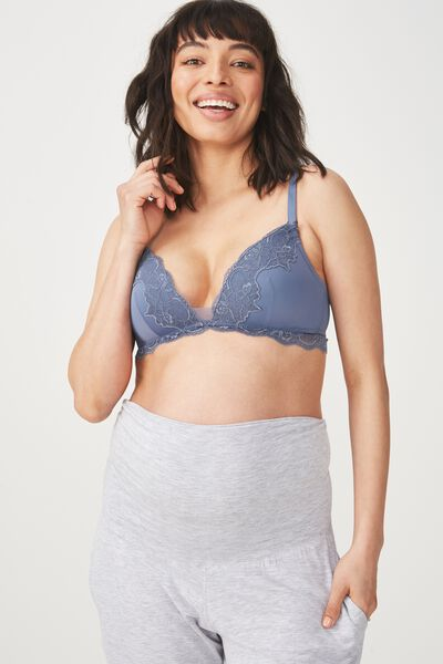 Ultimate Comfort Lace Maternity, STORM BLUE