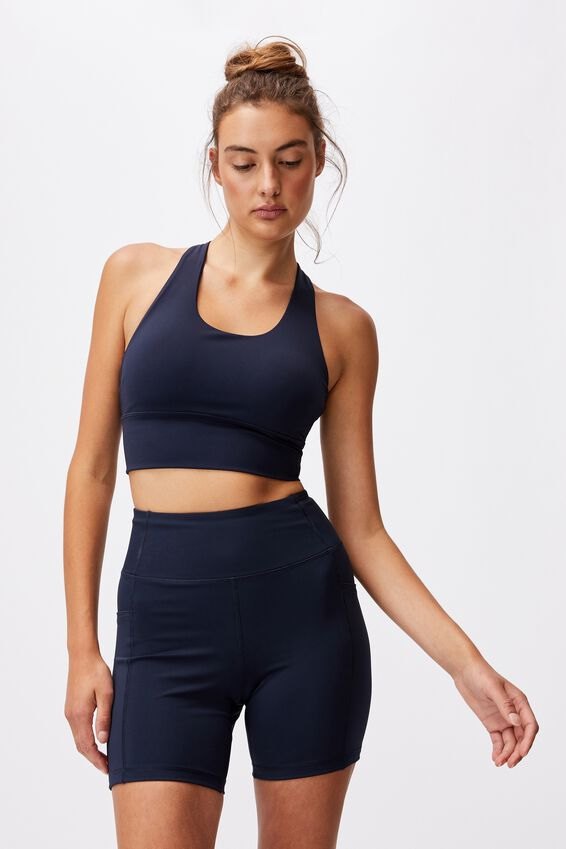 Ultimate Longline Crop, NAVY