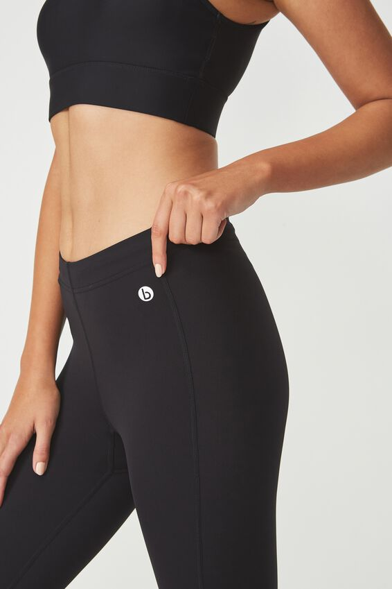 Compression Capri, BLACK