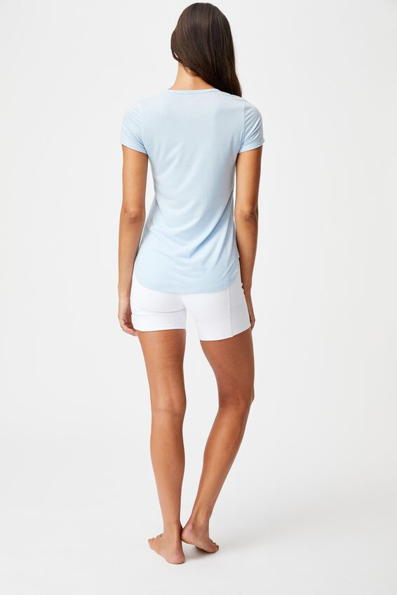 Gym T Shirt, BABY BLUE