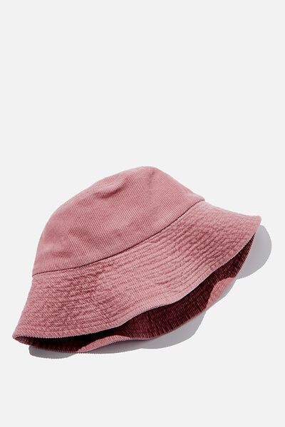 Bria Bucket Hat, BLUSH CORD