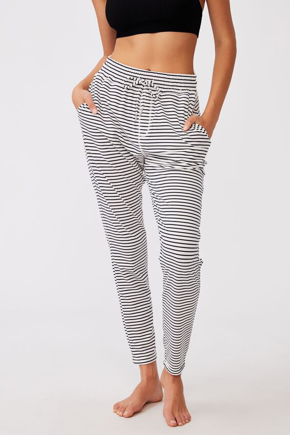 The Lounge Pant, SIMPLE STRIPE