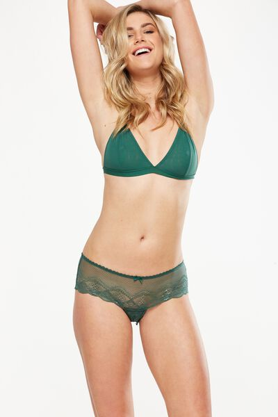 Cindy Boyleg Brief, EMERALD GREEN