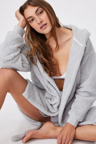 The Lounging Robe, SOFT GREY