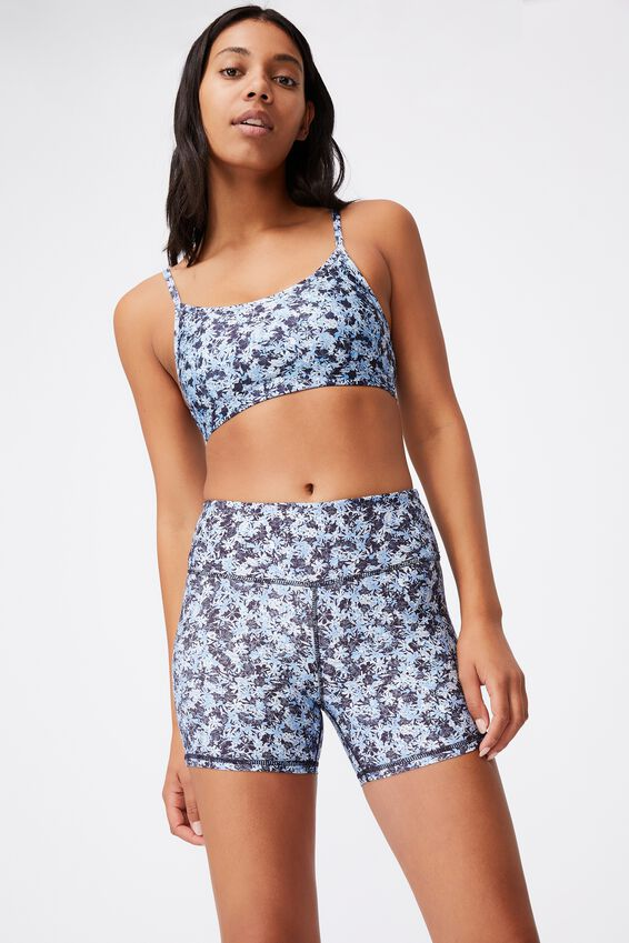 Get Cheeky Shortie Short, SUMMER BLOOM NAVY