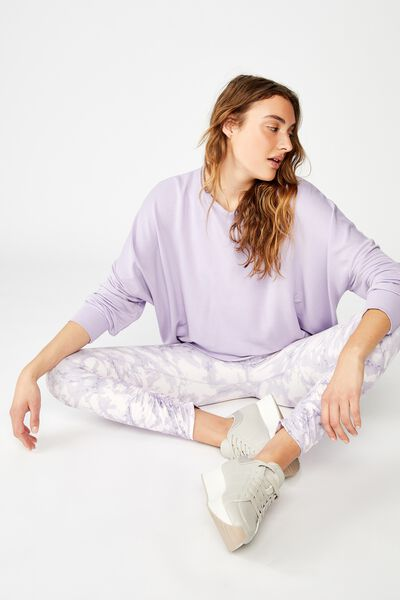 Cross Back Fleece, LILAC