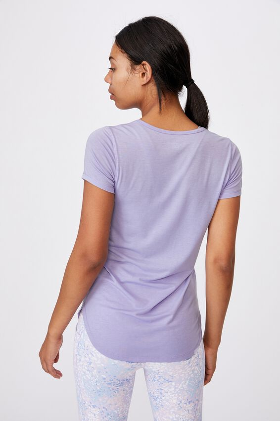 Gym T Shirt, CHALKY LAVENDER