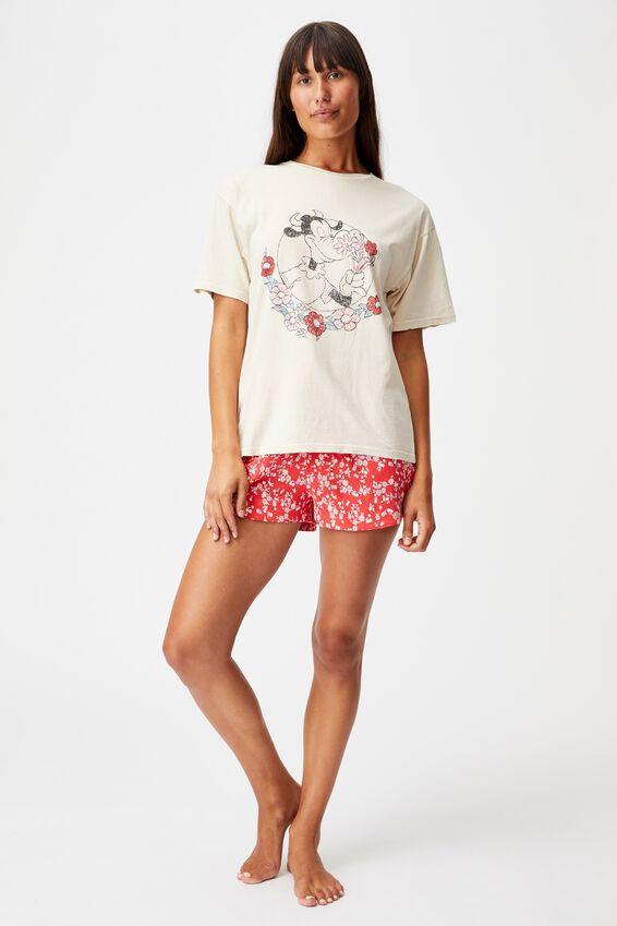 90S Bed T Shirt, LCN DIS VINTAGE CLARABELLE