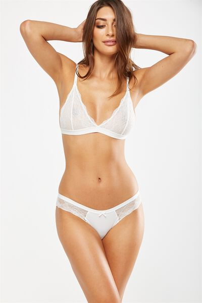 Cindy Bikini Brief, CREAM