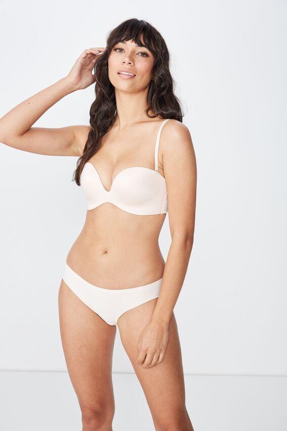 Seamless Essential Bikini Brief, SHELL