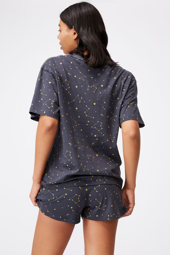 90S Bed T Shirt, CONSTELLATION NAVY