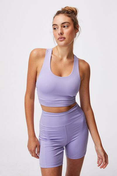 Lifestyle Loop Cross Back Vestlette, CHALKY LAVENDER