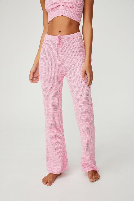 Organic Cotton Knit Lounge Pant, PRIMROSE MARLE