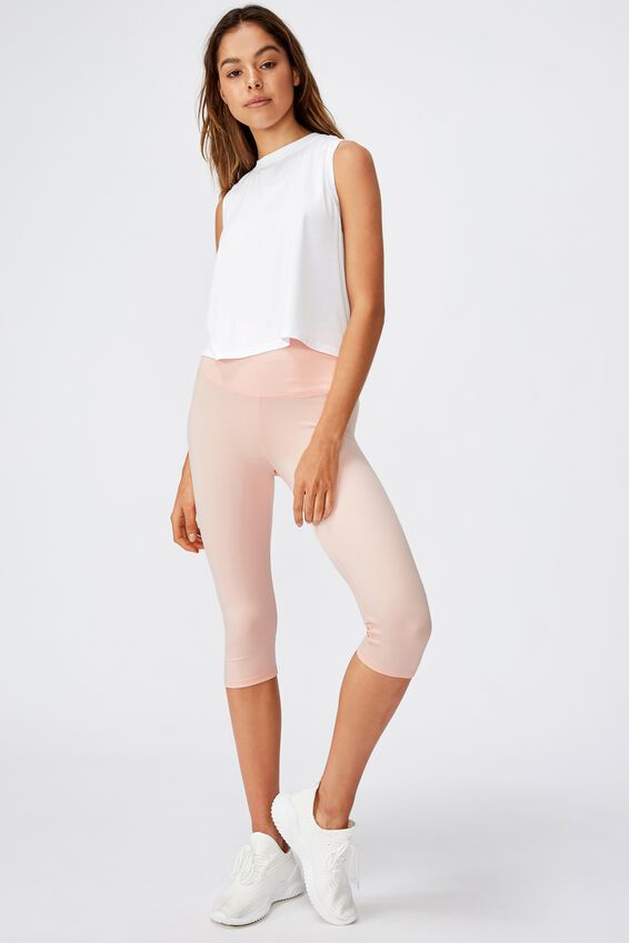 So Soft Capri Tight, SOFT CAMEO PINK MARLE/GREY MARLE