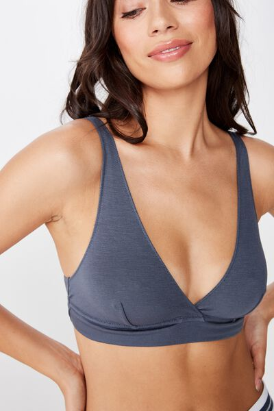 Sleep Recovery Bralette, IRON