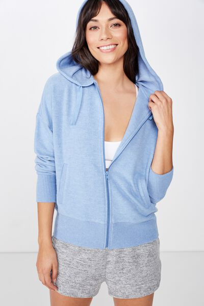 Supersoft Zip Through, SILVER LAKE BLUE
