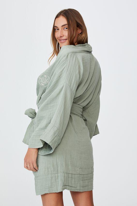 I-Do Robe Personalisation, DESERT SAGE