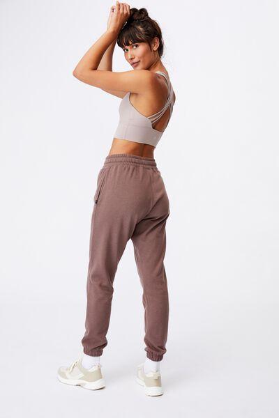 Lifestyle Gym Track Pant, RAW UMBER