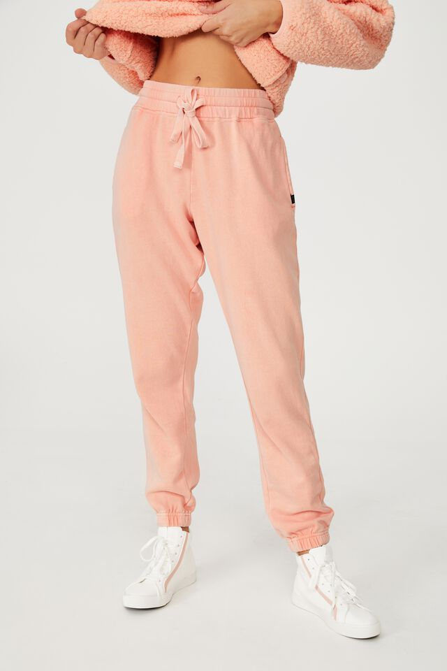 Lifestyle Gym Track Pant, WASHED APRICOT
