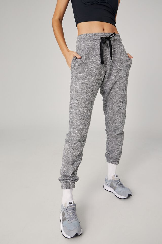 Lifestyle Gym Track Pant, BLACK VARSITY