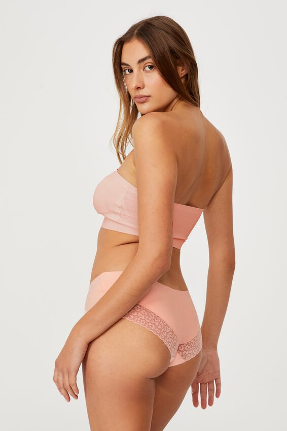 Invisible Bonded Bandeau, MARSHMELLOW PINK