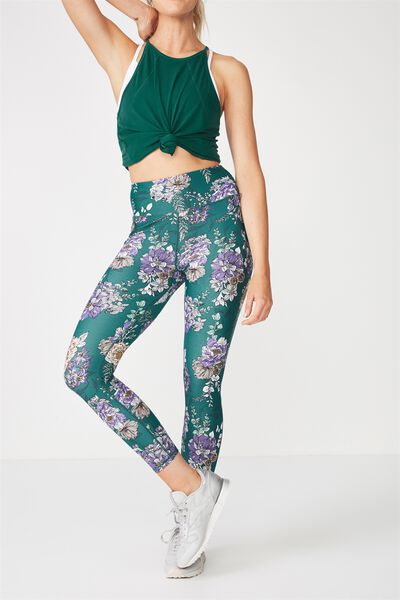 Lightweight Studio 7/8 Tight, IVY BLOOM