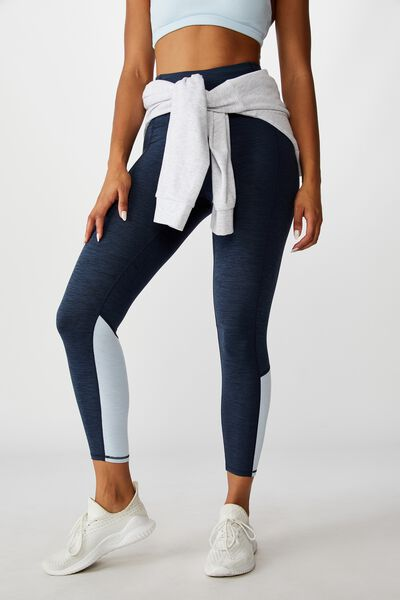 So Soft Marle 7/8 Tight, NAVY MARLE SPLICE