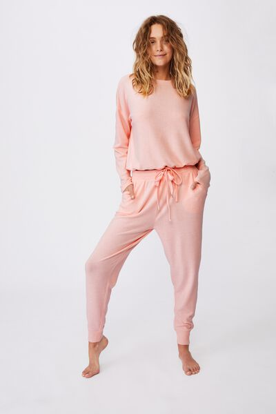 Supersoft Slim Fit Pant, FAIRY TALE MARLE