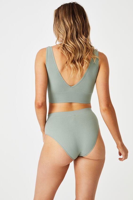 Seamless Mumdie Bikini Brief, DESERT SAGE