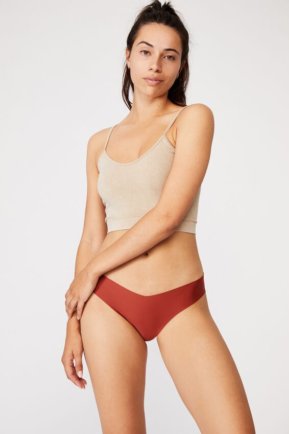 The Invisible G String Brief, CINNABAR