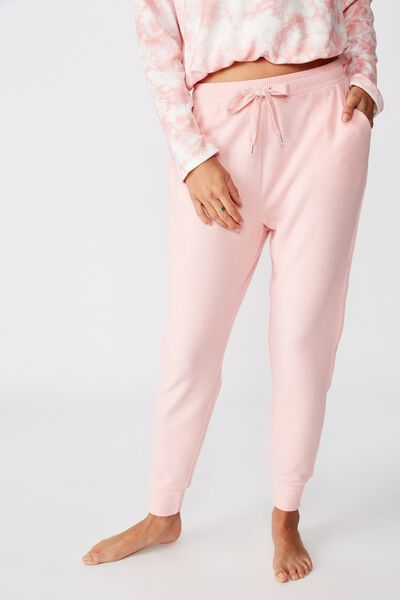 Supersoft Slim Fit Pant, PEACHES & CREAM MARLE