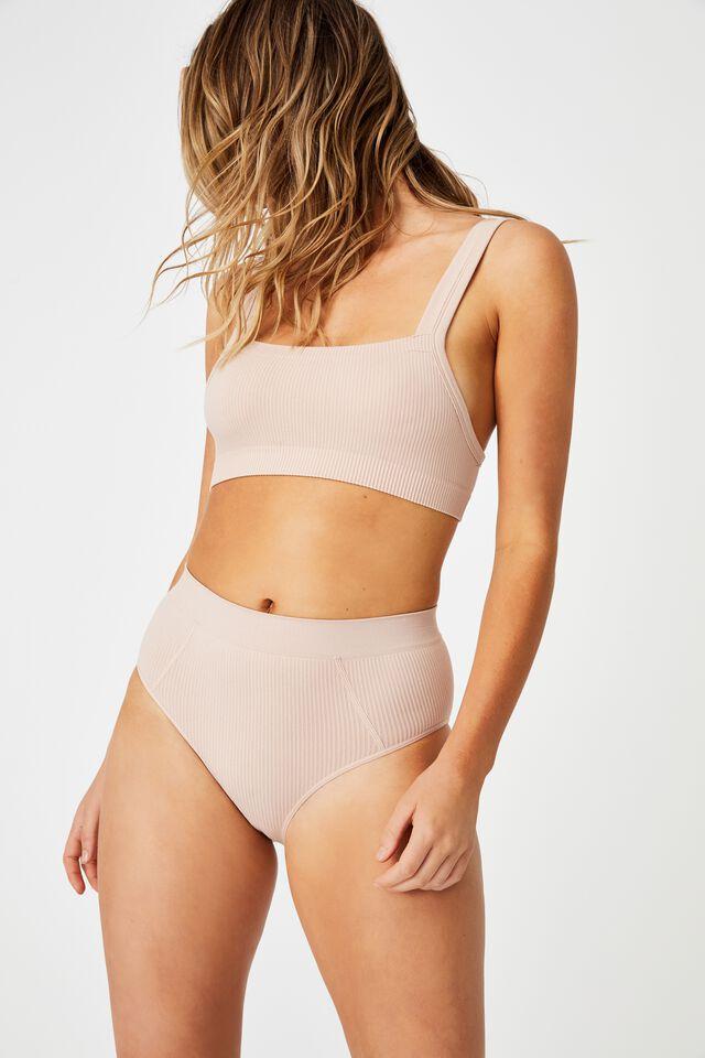 Seamfree Mumdie Bikini Brief, NEW LATTE