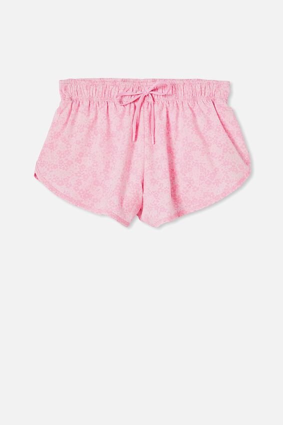 Move Jogger Short, Daisy fields tonal pinks