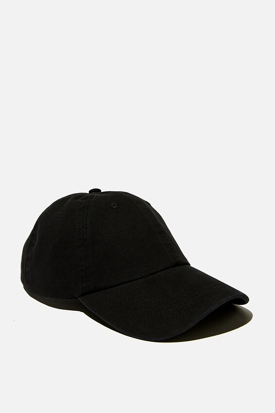 Road Trip Cap, WASHED BLACK